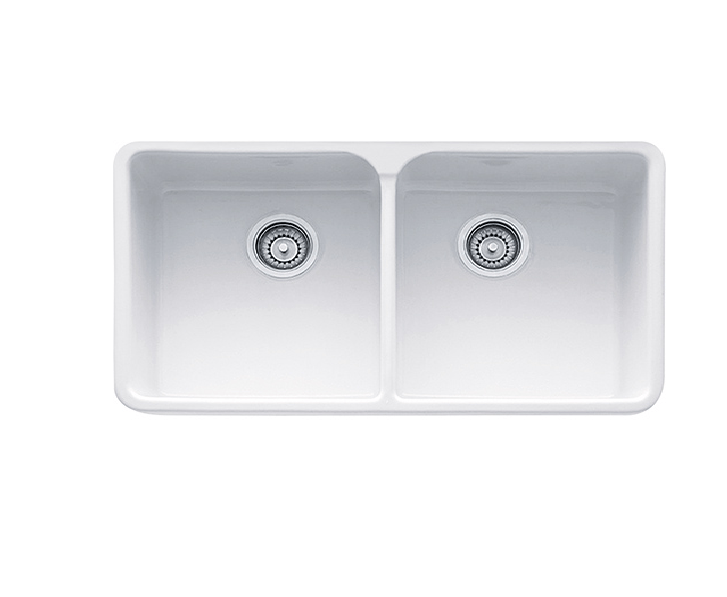 Franke Mhk720 31 Manor House Inch A Front Double Bowl Fireclay Sink