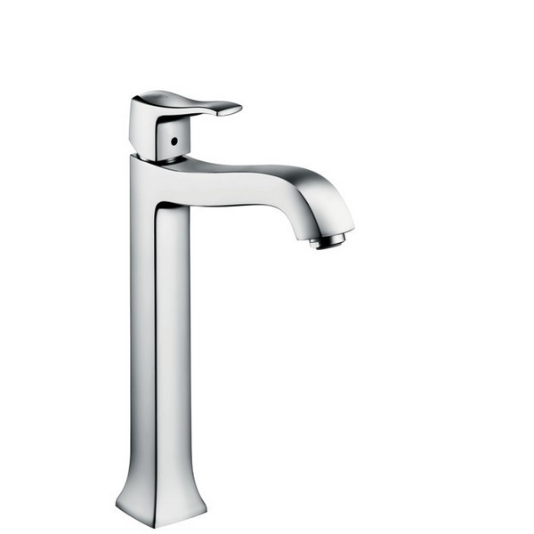 Hansgrohe 31078 Metris C Single-Hole Tall Faucet 31078001 31078821 ...