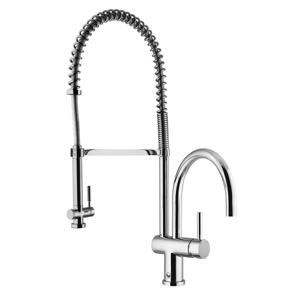 Vigo VG02006 Semi Pro Pull-Down Spray Kitchen Faucet VG02006CH ...