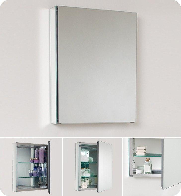 Fresca Fmc8058 Small 19 5 Inch Wide Bathroom Medicine Cabinet W Mirrors Fresca Bathroom