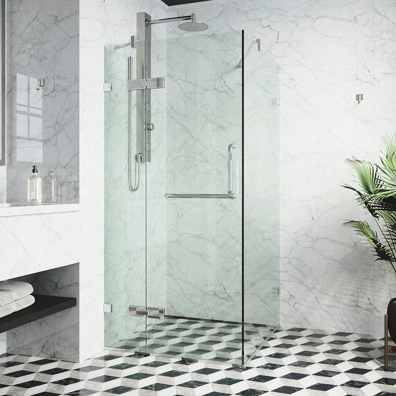 Vigo Vg6011 32x32 Frameless 32 Inch Tempered Gl Shower Enclosure