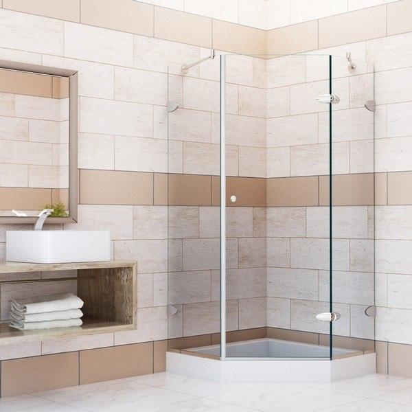 Vigo Vg6061 38x38w Frameless 38 Inch Tempered Glass Shower
