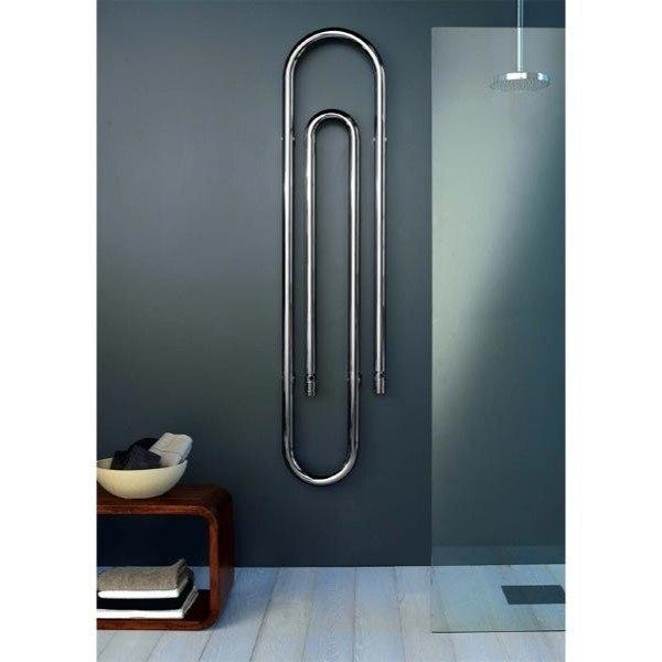 Scirocco Graffe 170 9010 Hydronic Bathroom Radiator Cr