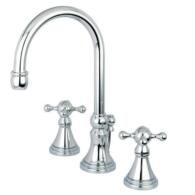 Kingston Brass Ks298kx Two Handle 8 Inch To 16 Inch Widespread Bathroom Faucet W Brass Pop Up