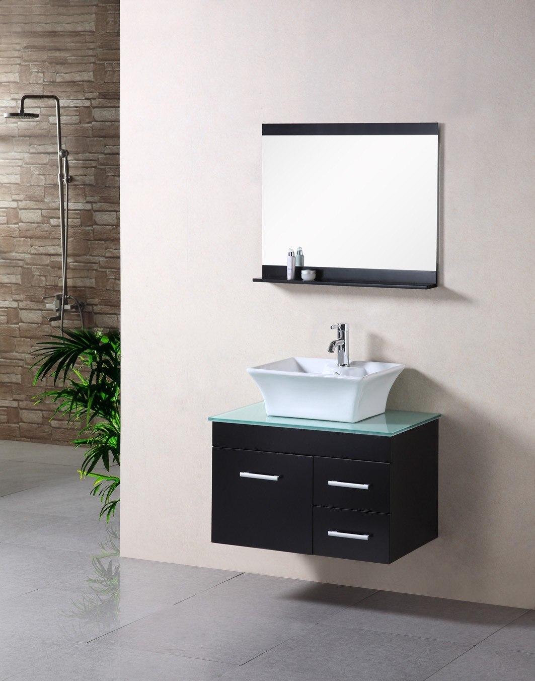 Design Element Dec1100a 30 Madrid 30 Inch Single Sink Wall