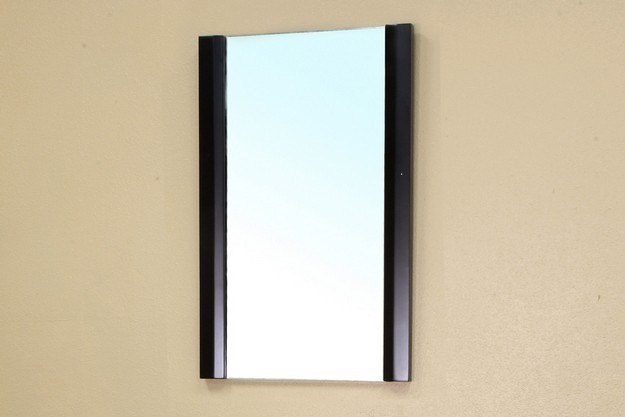 Bellaterra home 203102 mirror solid wood frame mirror for Types of mirror frames
