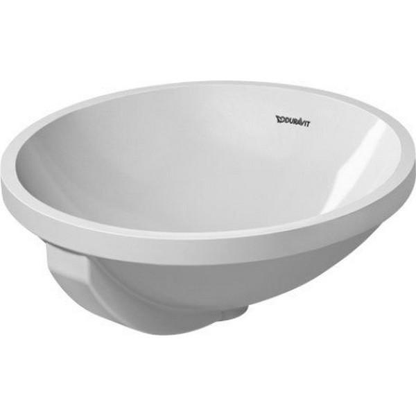 Duravit 046840 architec 15 3 4 inch vanity basin with for Duravit architec sink