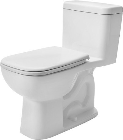 Duravit 0113010001 D Code 15 1 2 X 28 7 8 Inch One Piece Toilet With Single Flush Mechanism 0113010082