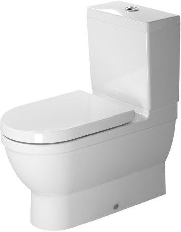 Duravit 214109 Starck 3 14-5/8 x 27-3/4 Inch Toilet Close-Coupled ...