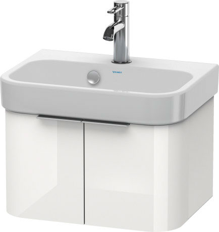 duravit h26268 happy d 2 18 3 4 x 13 3 4 inch vanity unit wall mounted