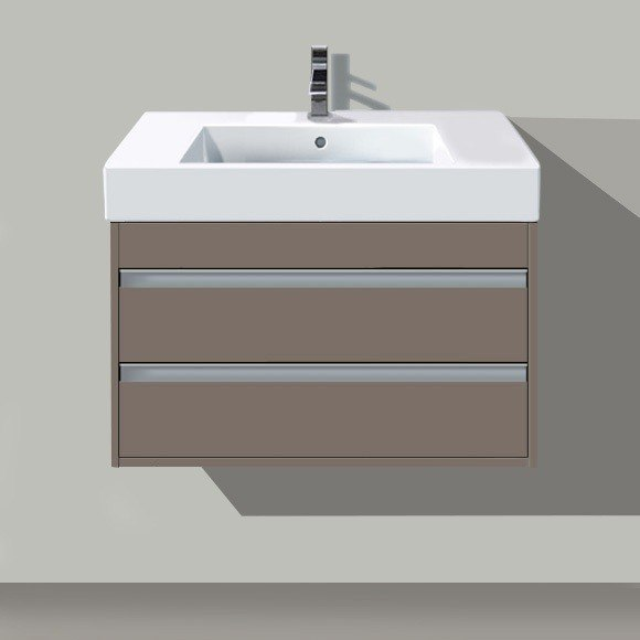 duravit kt6641 ketho 39 3 8 x 17 7 8 inch vanity unit wall mounted for