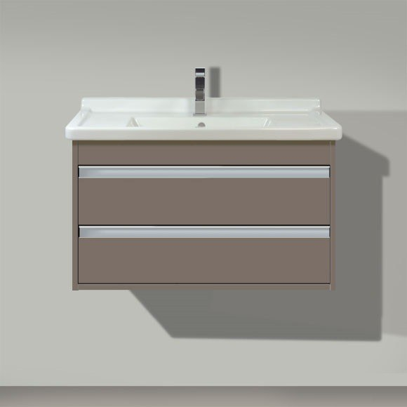 duravit kt6644 ketho 31 1 2 x 18 1 4 inch vanity unit wall mounted for