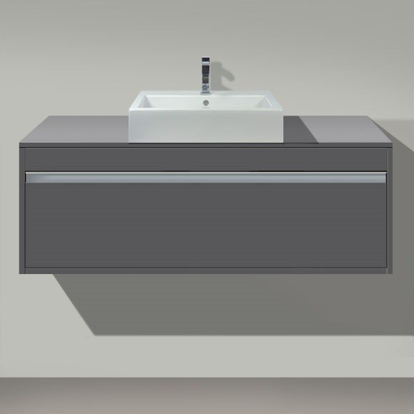 duravit kt6696 ketho 47 1 4 x 21 5 8 inch vanity unit wall mounted for