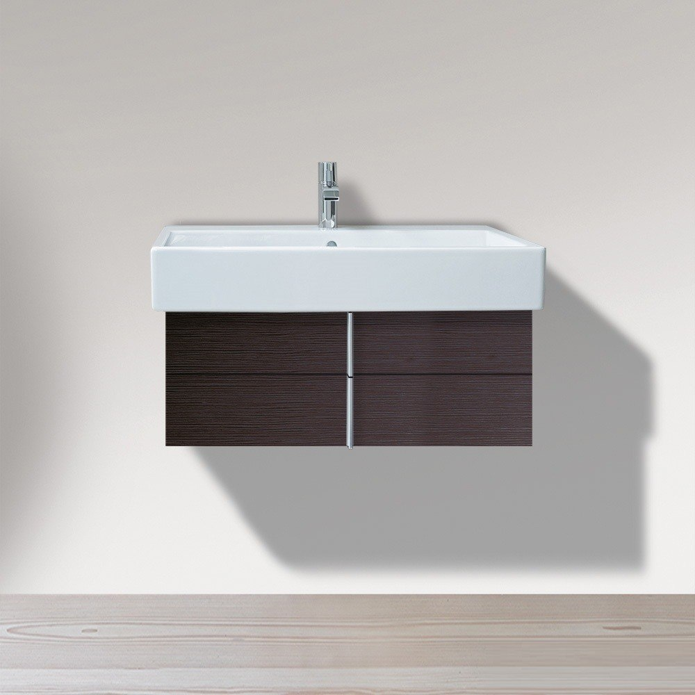 duravit ve6213 vero 31 1 2 x 17 1 2 inch vanity unit wall mounted for