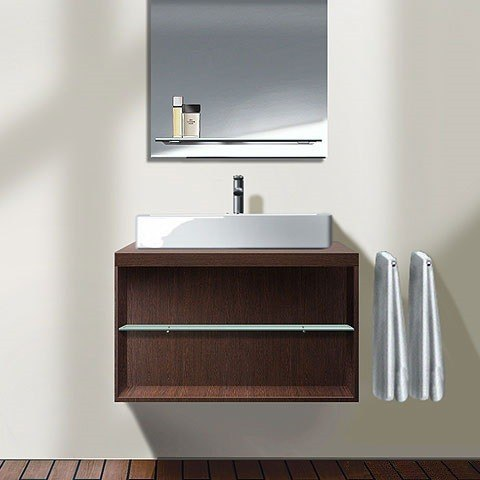 duravit xl6718 x large 31 1 2 x 21 1 2 vanity unit wall mounted