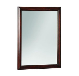 Foremost avtm2331 avonwood collection 23 inch mirror for Types of mirror frames