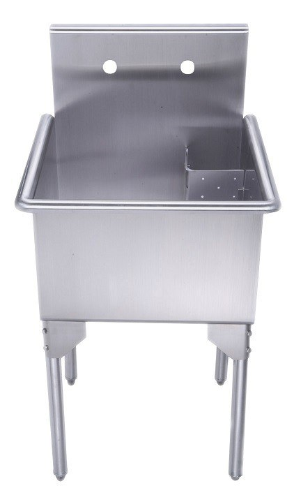 ... Inch Brushed Stainless Steel Freestanding Utility Sink WHLS2020-NP