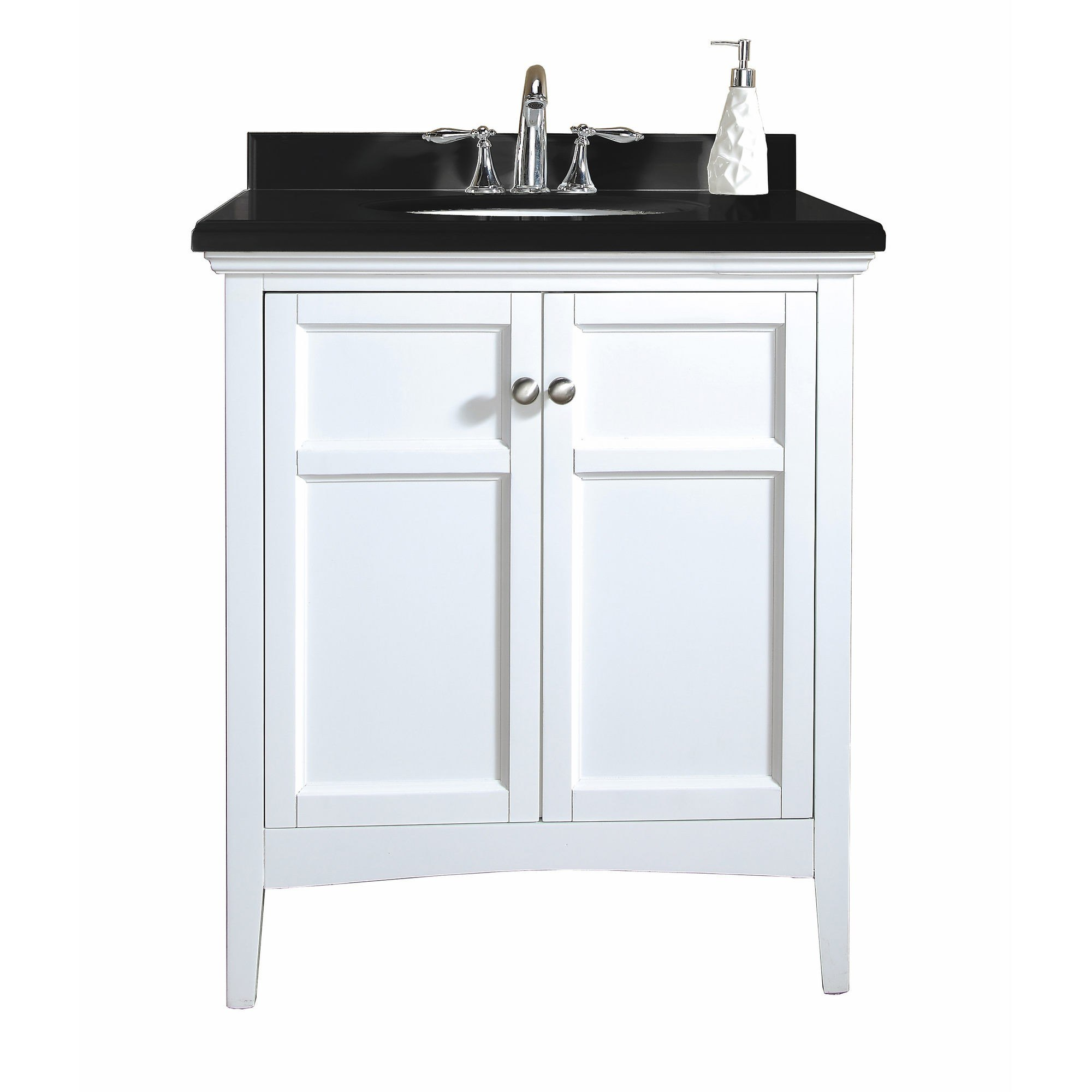 Ove Decor 15vva Camp30 000af Campo 30 Inch Vanity In White
