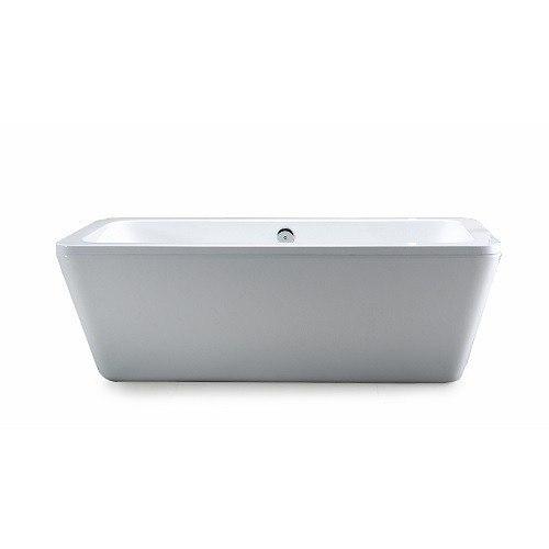 Ove Decors 15btu Kido69 001mo Kido 69 Inch Acrylic White 2510 Center Drain Bath