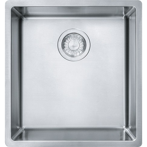 Franke CUX11015 Cube 16-1/2 Inch Undermount Single Bowl Stainless ...