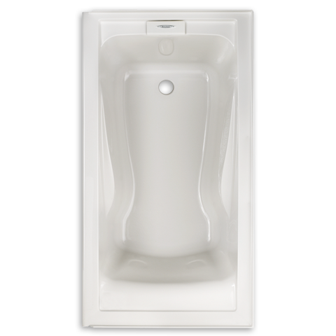 standard evolution 60 x 32 inch acrylic deep soak bathtub