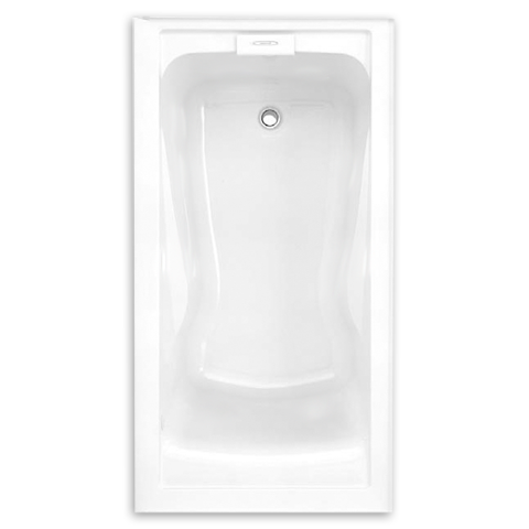 60 x 32 inch acrylic deep soak integral apron bathtub left hand drain