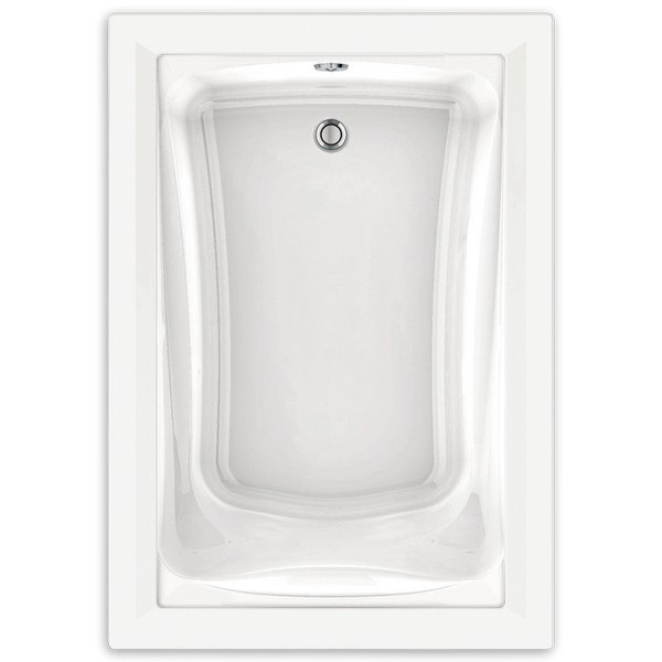 standard green tea 60 x 42 inch acrylic deep soak bathtub