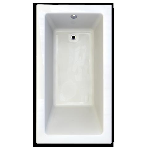 2938 002 D2 020 Studio 66 X 36 Inch Acrylic Bathtub For Alcove