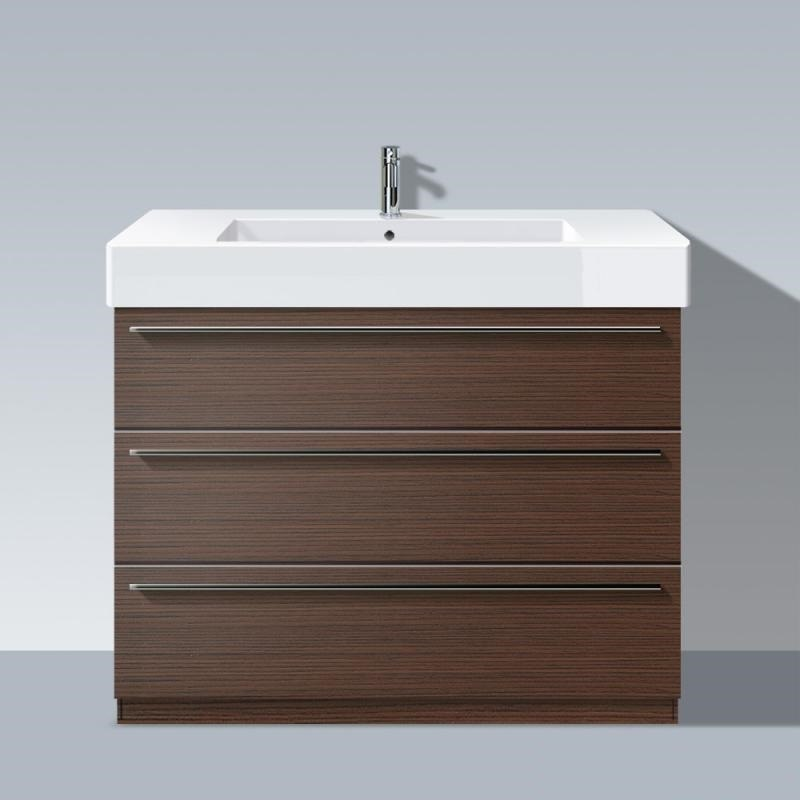 duravit xl6574 x large 39 3 8 x 18 1 2 vanity unit floor standing for