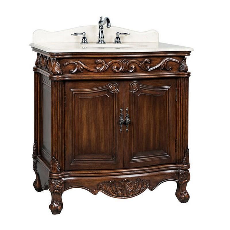 chans furniture cf 2873w aw fiesta 32 inch antique white