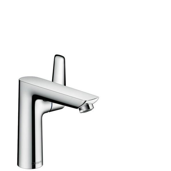 Hansgrohe 71754 talis e single hole basin mixer 150 with pop up waste set 71754001 71754821 - Hansgrohe pop up drain ...