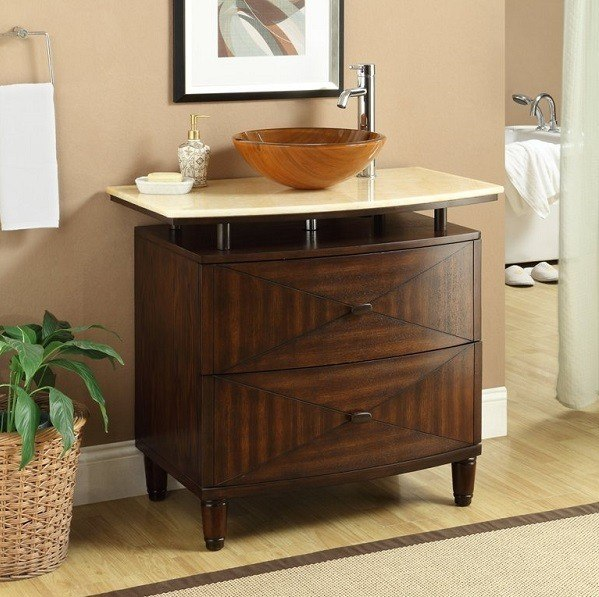 Amazing Painting Bathroom Cabinets Dark Brown Dsc03641 QimlsZ  Www