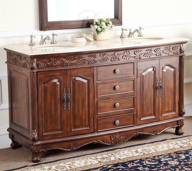 chans furniture hf036xlm tk florence 63 inch brown