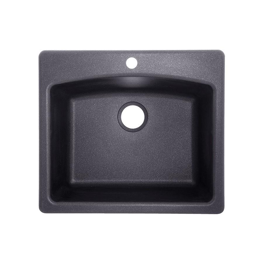 Franke elg61091 gra ellipse 25 inch graphite single basin granite franke elg61091 gra ellipse 25 inch graphite single basin granite dual mount 4 workwithnaturefo