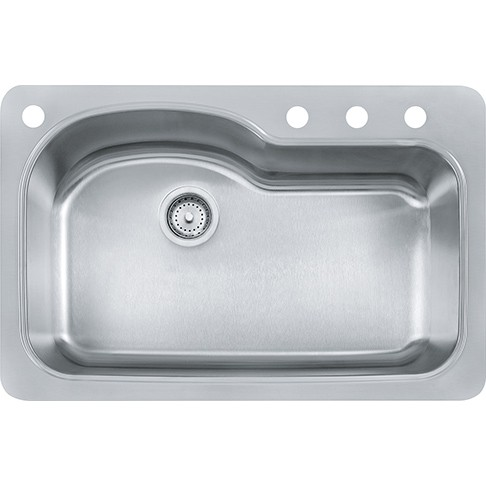 Franke FBSLD904-18BX 33 Inch Stainless Steel Double Bowl Kitchen Sink