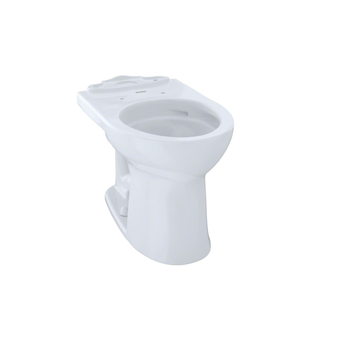 Toto C453CUFG#01 Drake II Round ADA Height Toilet Bowl Only, Toto ...