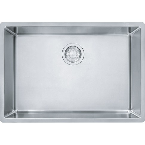 Franke CUX11025 Cube 26-5/8 Inch Undermount Single Bowl Stainless ...