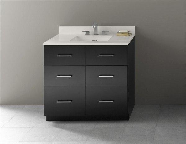Ronbow 090936 B02 Lassen 36 Inch Eco Friendly Bathroom Vanity