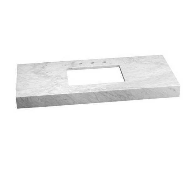 Ronbow 304449 1 Cw Wideappeal 48 X 22 Inch Marble Vanity Top In