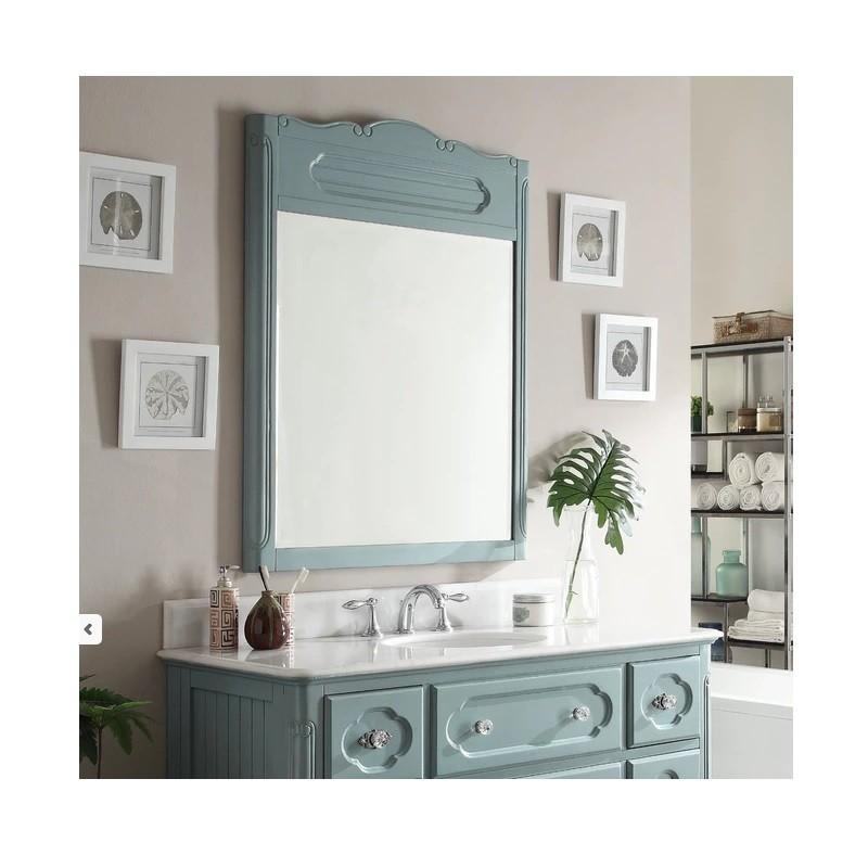 Chans Furniture GD-1522BU-MIR 48 Inch Benton Collection Victorian ...