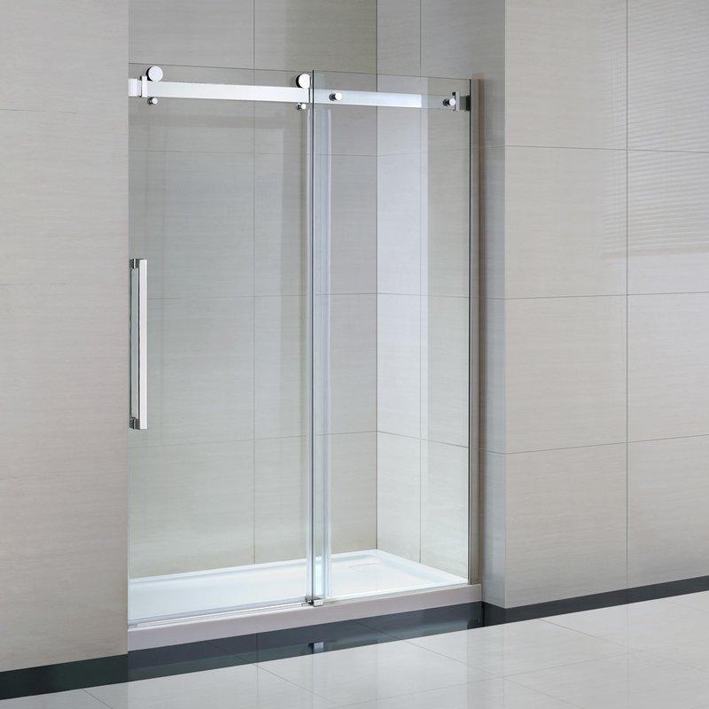 Ove Decor 15SKA-061460-001WM OWS-614 60 Inch Shower Kit Glass Panel ...