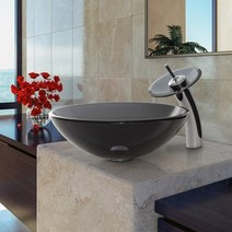Vessel Sink and Matching Faucet