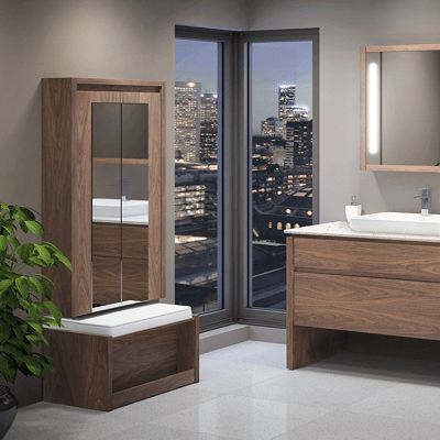 Kubebath Bathroom Storage