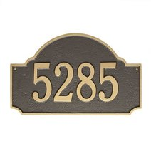 BRASS Accents BRASS Accents Address Plaques