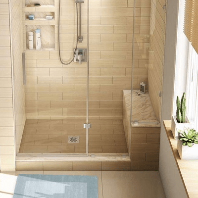 Tile Redi Shower Benches