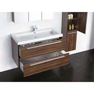 Lada Milan 30 Wall Hung 12 Inch Bathroom Storage Linen Cabinet
