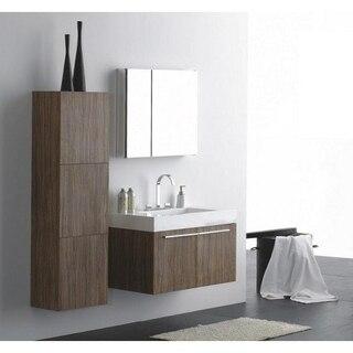 Lada Domino T45 Wall Hung Bathroom Storage Linen Cabinet