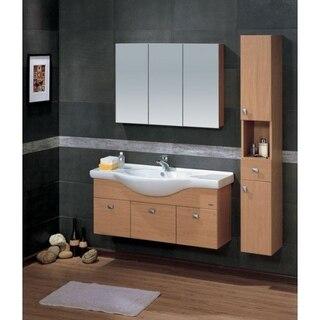 Lada Madrid 25 Wall Hung Bathroom Storage Linen Cabinet