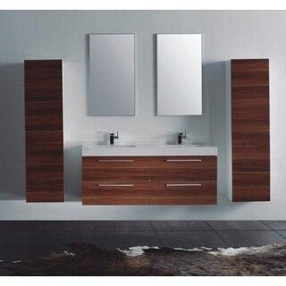 Lada Domino T40 Wall Hung Bathroom Storage Linen Cabinet