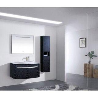 Lada Vogue 30 Wall Hung 12 Inch Bathroom Storage Linen Cabinet